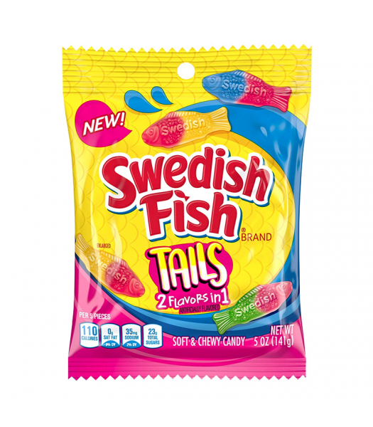 Swedish Fish Tails - 5oz (141g) Sweets and Candy Swedish Fish