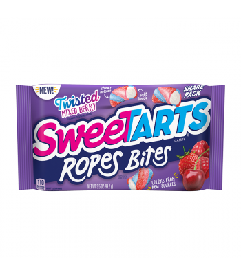Sweetart Ropes Bites Share Size Twisted Berry - 3.5oz (99.2g)