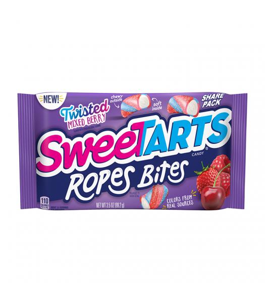 Sweetart Ropes Bites Share Size Twisted Berry - 3.5oz (99.2g)
