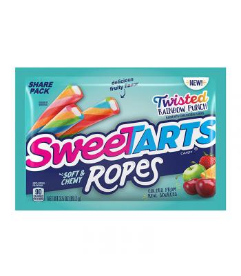 Sweetart Ropes Bites Share Size Twisted Rainbow Punch - 3.5oz (99.2g)