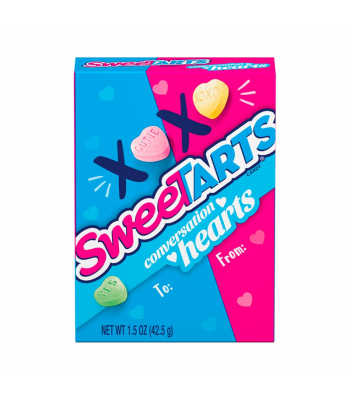SweeTarts Conversation Hearts - 1.5oz (42.5g) Sweets and Candy Nestle