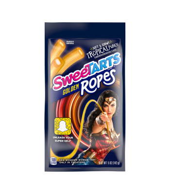 Sweetarts Wonder Woman Golden Ropes - 5oz (142g) Sweets and Candy
