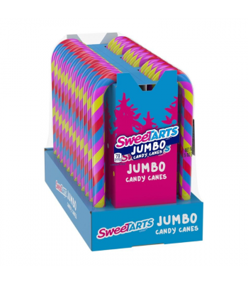 SweeTarts Jumbo Candy Canes - 2.5oz (71g) [Christmas] Sweets and Candy
