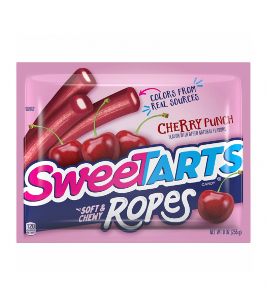 SweeTarts Ropes Cherry Punch 9oz (255g) Sweets and Candy