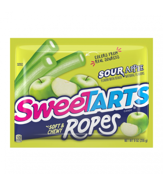 SweeTarts Ropes Sour Apple 9oz (255g) Sweets and Candy