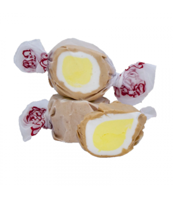 Taffy Town Banana Cream Pie Salt Water Taffy Cup (23pcs) (182g) Sweets and Candy Taffy Town