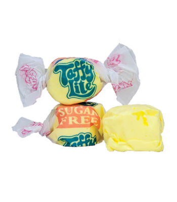 Taffy Town Banana Sugar Free Salt Water Taffy Cup (23pcs) (182g) Sweets and Candy Taffy Town