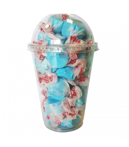 Taffy Town Blueberry Salt Water Taffy Cup (23pcs) (182g) Sweets and Candy Taffy Town