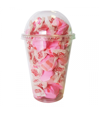 Taffy Town Cherry Salt Water Taffy Cup (23pcs) (182g) Sweets and Candy Taffy Town