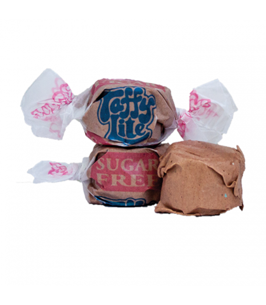 Taffy Town Chocolate Sugar Free Salt Water Taffy Cup (23pcs) (182g) Sweets and Candy Taffy Town