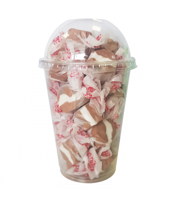 Taffy Town Cookies & Cream Salt Water Taffy Cup (23pcs) (182g) Sweets and Candy Taffy Town