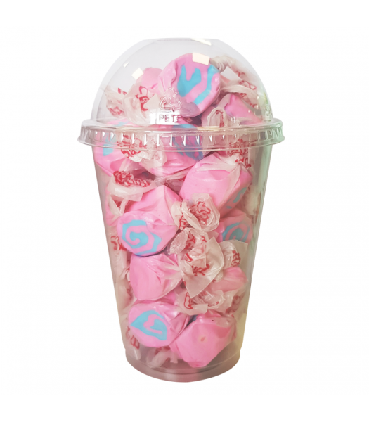 Taffy Town Cotton Candy Salt Water Taffy Cup (23pcs) (182g) Sweets and Candy Taffy Town