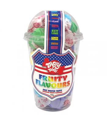 Taffy Town Candy Cup - Fruity Flavours (182g) Candy Cups Taffy Town