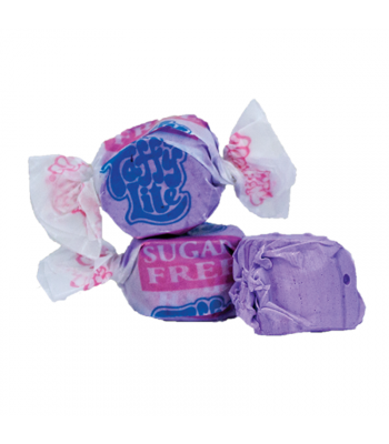 Taffy Town Huckleberry Sugar Free Salt Water Taffy Cup (23pcs) (182g) Sweets and Candy Taffy Town