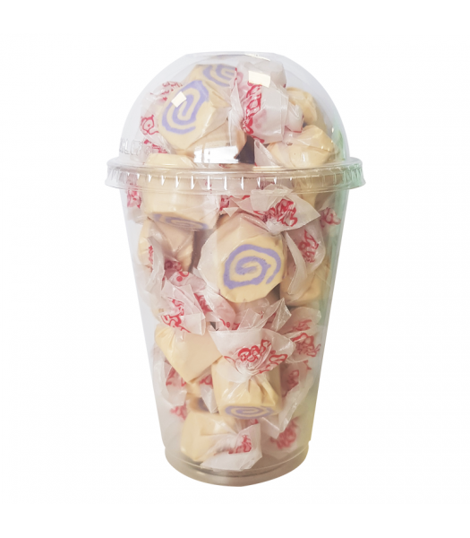 Taffy Town Peanut Butter & Jelly Salt Water Taffy Cup (23pcs) (182g) Sweets and Candy Taffy Town