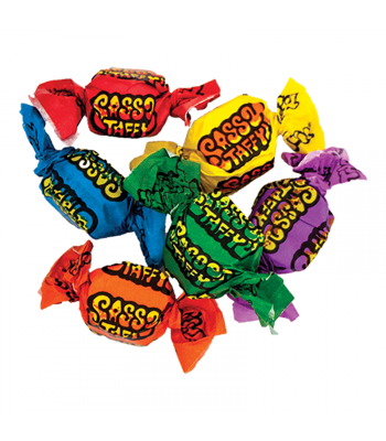 Taffy Town Sassy (Sour) Salt Water Taffy Cup (23pcs) (182g) Sweets and Candy Taffy Town