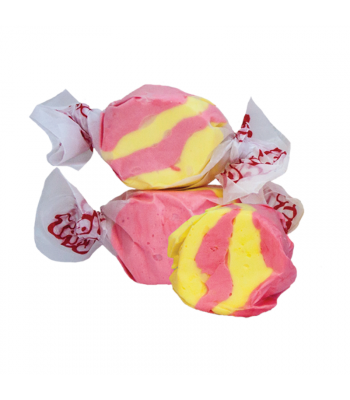 Taffy Town Strawberry Banana Salt Water Taffy Cup (23pcs) (182g) Sweets and Candy Taffy Town