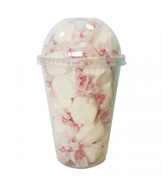 Taffy Town Vanilla Salt Water Taffy Cup (23pcs) (182g) Sweets and Candy Taffy Town