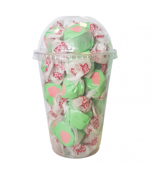 Taffy Town Watermelon Salt Water Taffy Cup (23pcs) (182g) Sweets and Candy Taffy Town