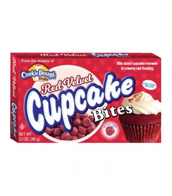 Red Velvet Cupcake Bites 3.1oz Chocolate, Bars & Treats Cookie Dough Bites