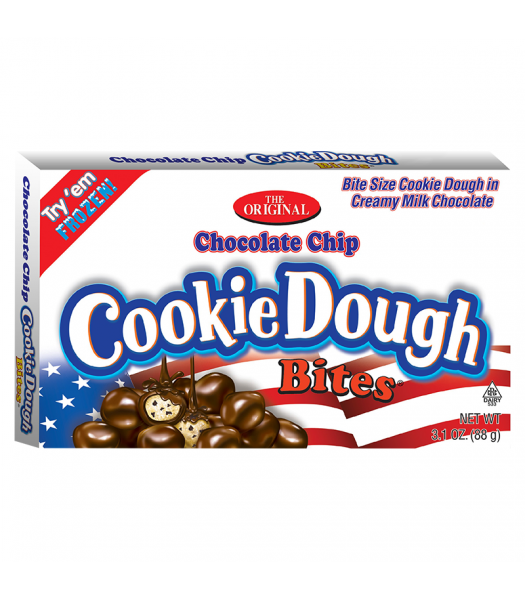 Red, White & Blue Chocolate Chip Cookie Dough Bites - 3.1oz (88g)