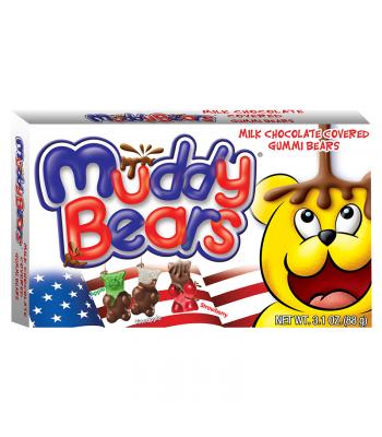 Red, White & Blue Muddy Bears Theatre Box - 3.1oz (88g)