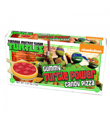 Teenage Mutant Ninja Turtles Gummy Pizza Theatre Box - 2.54oz (72g) Soft Candy