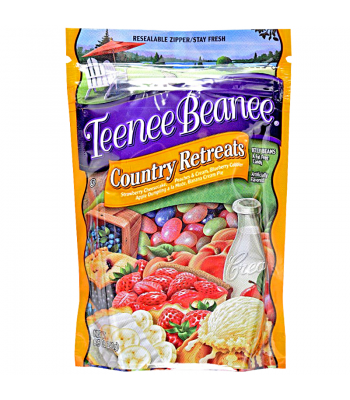 Teenee Beanee Country Retreats Jelly Beans 8.5oz (241g) Sweets and Candy