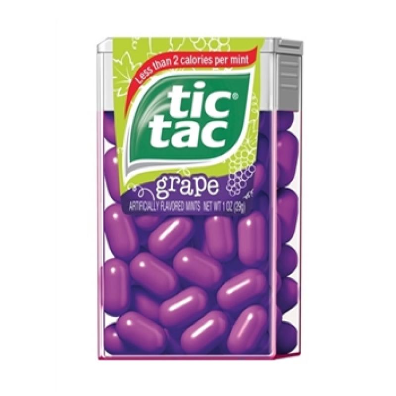 tic tac grape flavour big pack american fizz. Black Bedroom Furniture Sets. Home Design Ideas