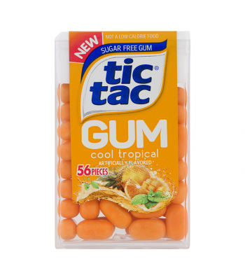 Tic Tac Gum Cool Tropical - 1oz (28g) Sweets and Candy Tic Tac
