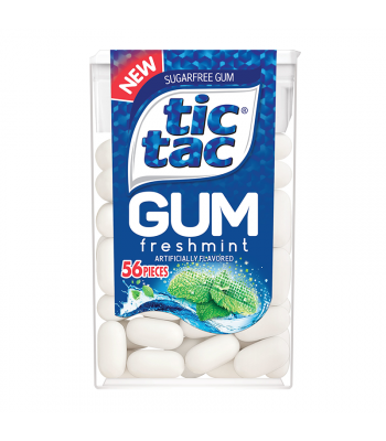 Tic Tac Gum Freshmint 0.95oz - 56 Pieces Sweets and Candy Tic Tac