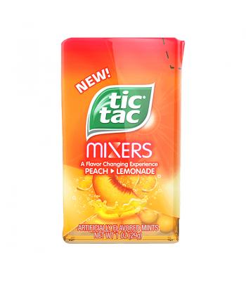 Tic Tac Mixers - Peach to Lemonade - 1oz (29g) Hard Candy Tic Tac
