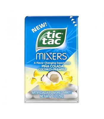 Tic Tac Mixers - Pina Colada - 1oz (29g) Hard Candy Tic Tac