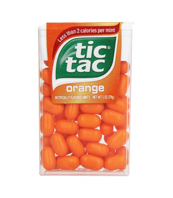 Tic Tac Orange - 1oz (29g) Sweets and Candy Tic Tac