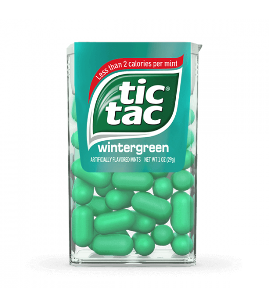Tic Tac Wintergreen Flavour - 1oz (29g) Sweets and Candy Tic Tac