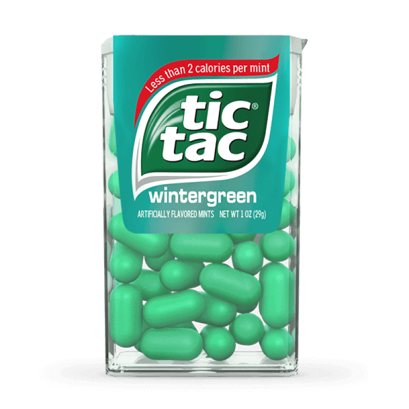 Tic Tac Wintergreen Flavour - Big Pack - American Fizz