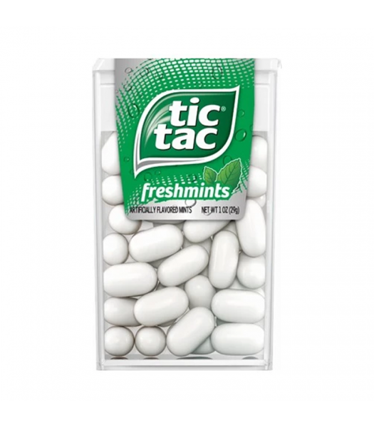 Tic Tac Freshmints - 1oz (29g) Sweets and Candy Tic Tac