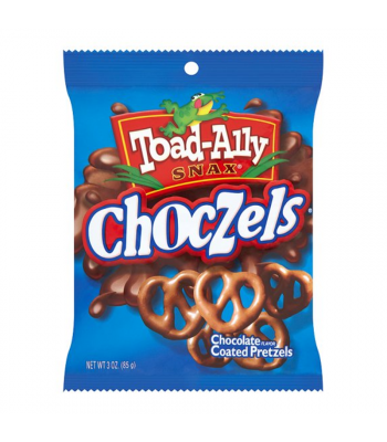 Toad-Ally - Choczels 3oz Snacks and Chips