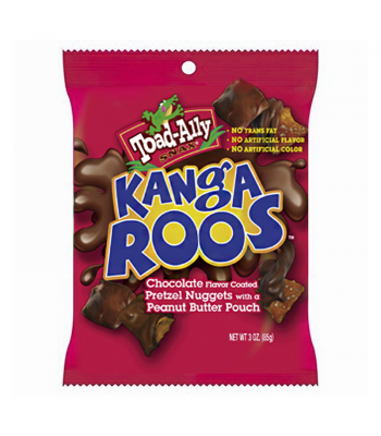 Toad-Ally - Kangaroos 3oz (85g) Snacks and Chips