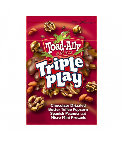 Toad-Ally - Triple Play 3oz (85g) Sweets and Candy