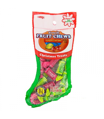 Tootsie Fruit Chews Christmas Treats Stocking - 1.8oz (51g) Sweets and Candy Tootsie