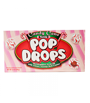 Tootsie Candy Cane Pop Drops - 3.5oz (99g) [Christmas] Sweets and Candy Tootsie