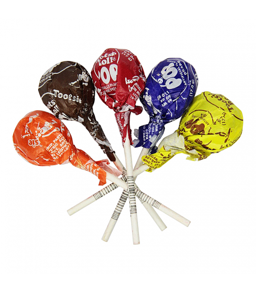 Tootsie Pop Assorted Flavour - SINGLE - 0.6oz (17g) Sweets and Candy Tootsie