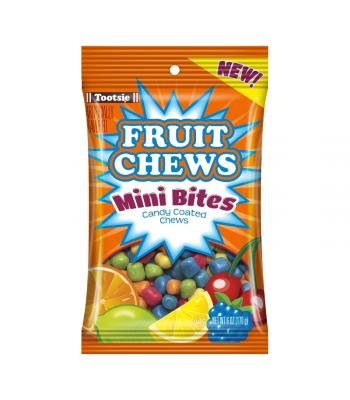 Tootsie Fruit Chews Mini Bites - 6oz (170g) Sweets and Candy Tootsie