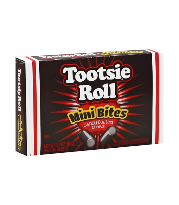 Tootsie Roll Mini Bites Theatre Box - 3.5oz (99g) Sweets and Candy Tootsie