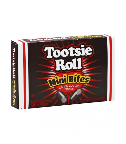 Tootsie Roll Mini Bites Theatre Box - 3.5oz (99g) Sweets and Candy Tootsie