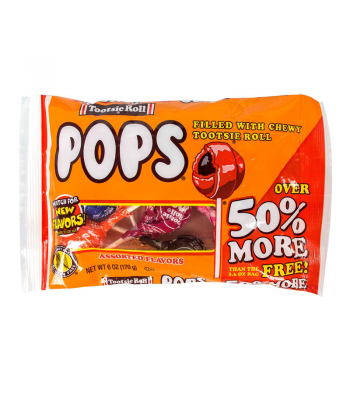 Tootsie Roll Pops Assorted - 6oz (170g) Sweets and Candy Tootsie