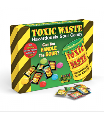 Toxic Waste Giant Assorted Box (340g) Sweets and Candy Toxic Waste