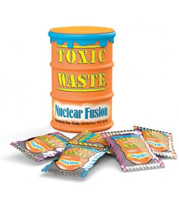 Toxic Waste Nuclear Fusion Sour Candy Drum  Sweets and Candy Toxic Waste
