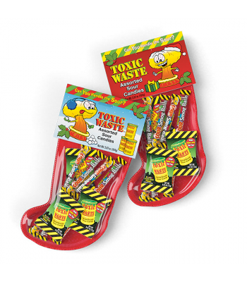 Toxic Waste Christmas Stocking 3.57oz (104g) [Christmas] Sweets and Candy Toxic Waste